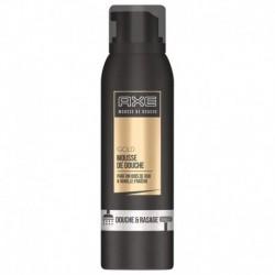Axe Mousse de Douche & Rasage Homme Gold Parfum Bois de Oud & Vanille Fraîche 200ml (lot de 3)