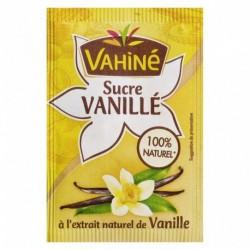 Vahiné Sucre Vanillé à l'Extrait naturel de Vanille par 10 Sachets de 7,5g (lot de 5 soit 50 sachets)