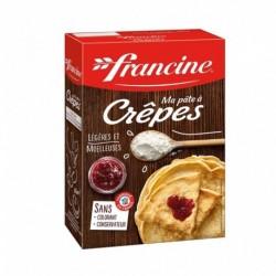 Francine Ma Pâte à Crêpes Légères et Moelleuses par 2 Sachets 380g (lot de 6)