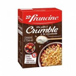 Francine Ma Pâte à Crumble à la Cassonade 300g (lot de 6)