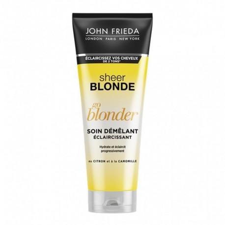 John Frieda Sheer Blonde Go Blonder Soin Démêlant Éclaircissant 250ml (lot de 3)