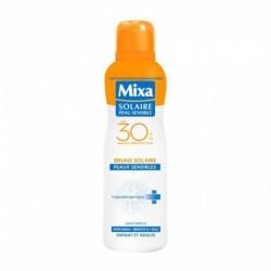 Mixa Solaire Peau Sensible Brume Solaire SPF30 Hyppoalergénique 200ml (lot de 2)
