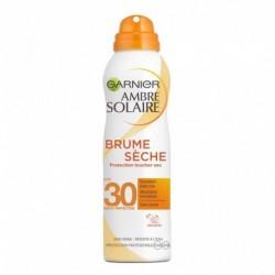 Garnier Ambre Solaire Brume Sèche FPS 30 Sensation Peau Nue 200ml (lot de 2)
