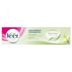 Veet Crème Dépilatoire Silk & Freh Technology Peaux Sèches 200ml (lot de 2)