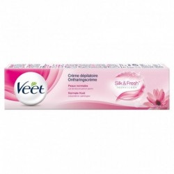 Veet Crème Dépilatoire Silk & Freh Technology Peaux Normales 200ml (lot de 2)