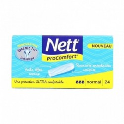 Nett Procomfort Tampon Normal x24 (lot de 4)