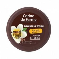 Corine de Farme Graisse à Traire Bronzage Intense Monoï de Tahiti Parfum des Îles 150ml (lot de 2)