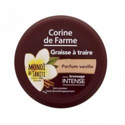 Corine de Farme Graisse à Traire Bronzage Intense Monoï de Tahiti Parfum Vanille 150ml (lot de 2)