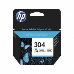 HP Cartouche d'Encre 304 Trois Couleurs (lot de 2)