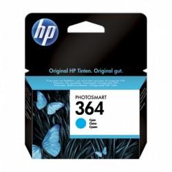 HP Cartouche d'Encre 364 Cyan (lot de 2)