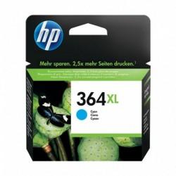 HP Cartouche d'Encre 364 XL Cyan (lot de 2)