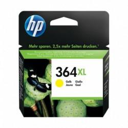 HP Cartouche d'Encre 364 XL Jaune (lot de 2)