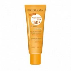 BIODERMA Photoderm Max SPF 50 + Aquafluide Teinté Très Haute Protection Peaux Sensibles 40ml (lot de 2)