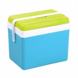 Eda Glacière Bleue Turquoise Couvercle Vert Pistache 24L