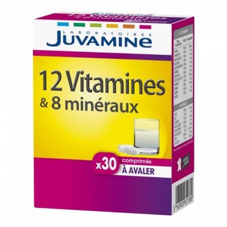 Juvamine 12 Vitamines & 8 Minéraux (lot de 2)