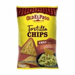 Old El Paso Tortilla Chips Chili Doux 185g (lot de 4)