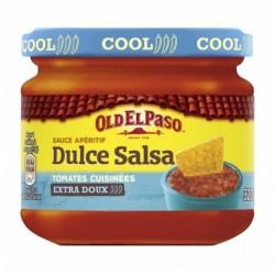 Old El Paso Sauce Apéritif Dulce Salsa Tomates Cuisinées Extra Doux 320g (lot de 4)