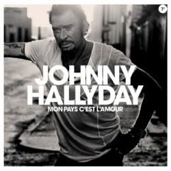 Johnny Hallyday Mon Pays c'est l'Amour Album CD + Livret Collector 28 Pages