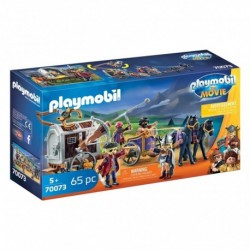 PLAYMOBIL 70073 The Movie - Charlie avec Convoi de Prison
