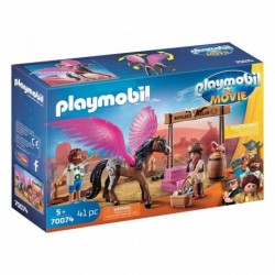 PLAYMOBIL 70074 The Movie - Marla et Del avec Cheval Ailé