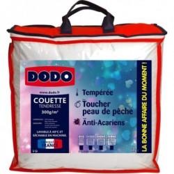 DODO Couette tempérée en microfibre anti-acariens TENDRESSE 200x200cm