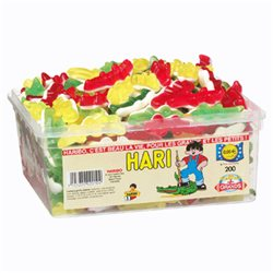 Haribo Hari Crocodiles (lot de 6)