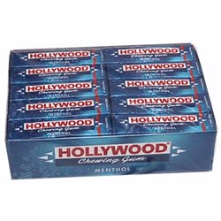 Hollywood tablettes Menthol (lot de 6)