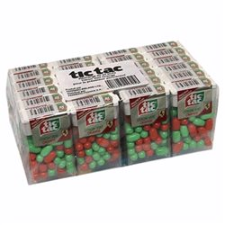 Tic Tac Citron vert / Orange (lot de 6)