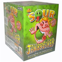 Jawbreaker Sour (lot de 6)
