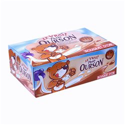 Véritable Petit Ourson Chocolat Lait (par 48) (lot de 6)