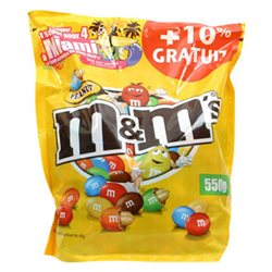 M&M's Peanut Maxi Pack Bonus (lot de 6)