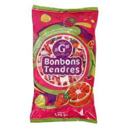 Gilbert Bonbons Tendres (lot de 6)