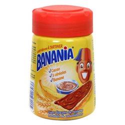 Pâte à tartiner Banania Cacao Céréales Bananes (lot de 6)