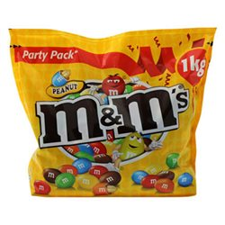 M&M's Peanuts Party Pack (lot de 6)