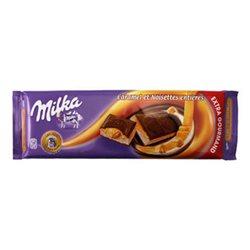Milka Caramel et Noisettes Entières Extra Gourmand (lot de 6)