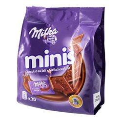 Milka Minis Chocolat au Lait (lot de 6)