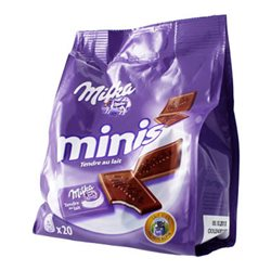 Milka Minis Tendre au Lait (lot de 6)