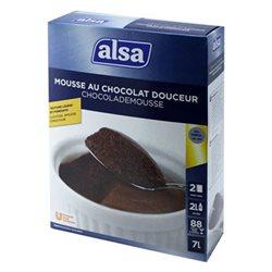 Mousse au Chocolat Noir Douceur (lot de 6)