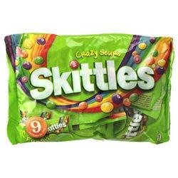 Skittles Crazy Sours (lot de 15)