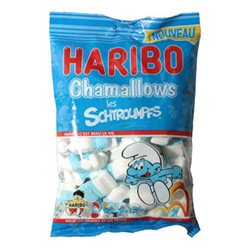 Haribo Chamallows Schtroumpfs (lot de 6)