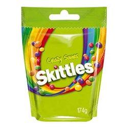 Skittles Crazy Sours (lot de 12)