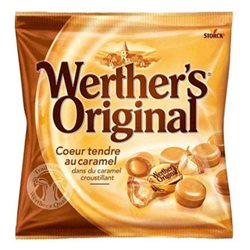 Werther's Original Coeur Tendre au Caramel (lot de 12)