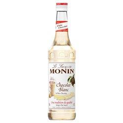 Sirop Monin Chocolat Blanc (lot de 6)