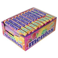 Mentos Fruits Maxi Pack (lot de 6)