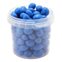M&M's Blue Peanut Box Bleu (lot de 12)