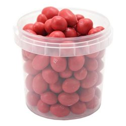 M&M's Red Peanut Box Rouge (lot de 12)