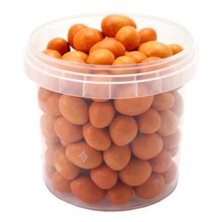 M&M's Orange Peanut Box Orange (lot de 12)