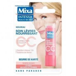 Mixa Soin Lèvres Nourrissant Correction Couleur Lèvres Ternes Teinte Rosée (lot de 6)