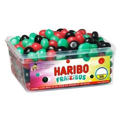 Haribo Fraizibus (lot de 6)