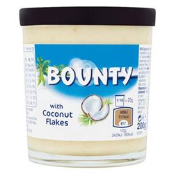 Pâte à tartiner Bounty (lot de 6)